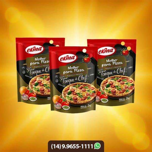 molho para pizza ekma
